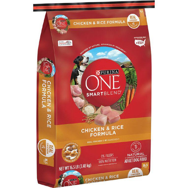 Purina ONE Smartblend Dog Chicken & Rice 7.48Kg, , hi-res