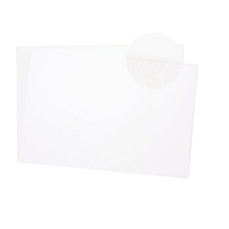 Direct Paper Display Board White Felt/White 1400UM 40cm x 60cm, , hi-res