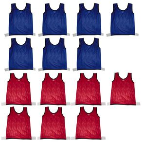 Active Intent Sports Sports Bibs Blank 14 Pack