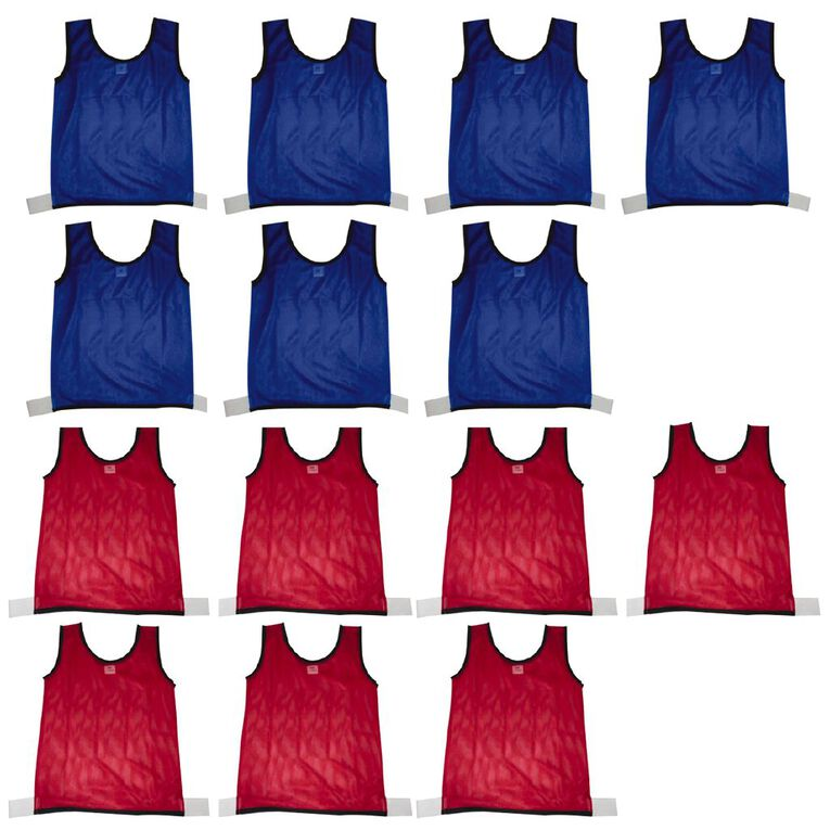 Active Intent Sports Sports Bibs Blank 14 Pack, , hi-res