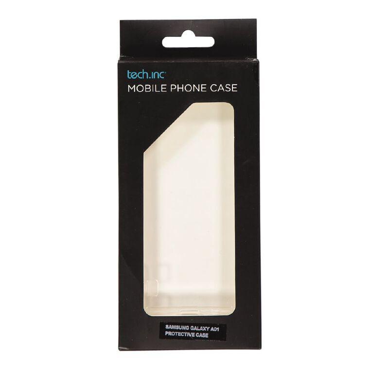 Tech.Inc Samsung Galaxy A01 Phone Case Clear, , hi-res