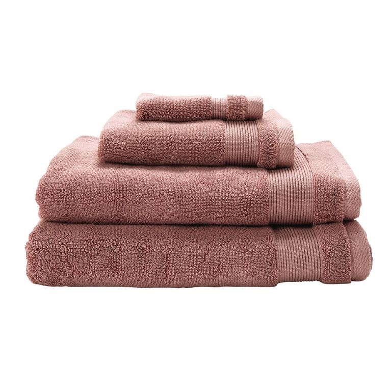 Living & Co Hotel Collection Face Towel Pink Dark 30cm x 30cm, Pink Dark, hi-res