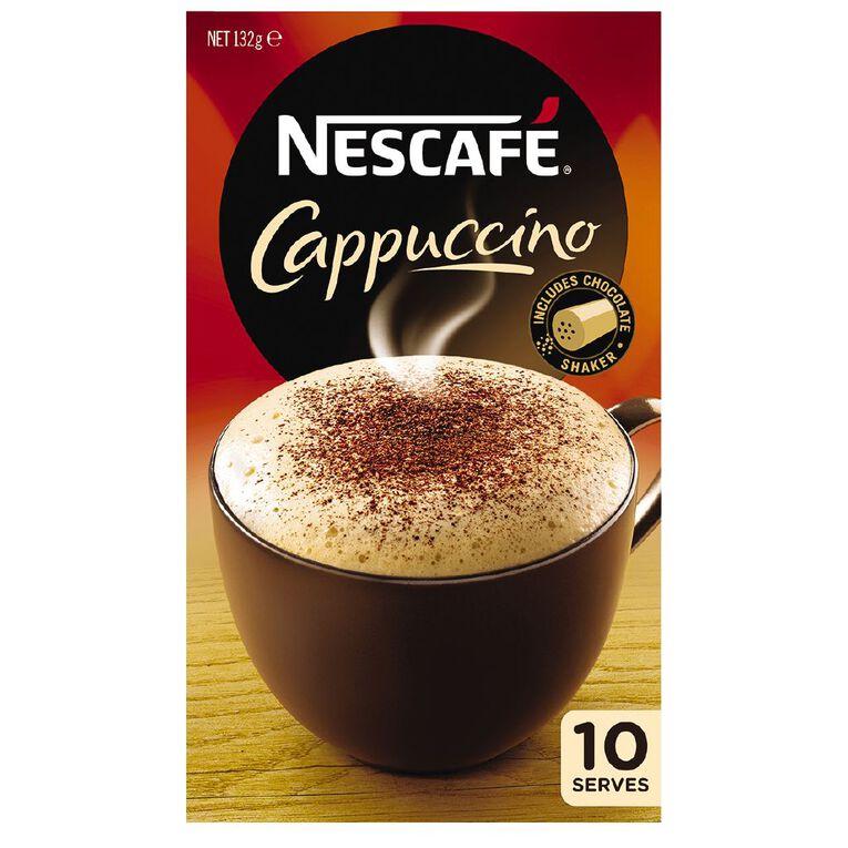 Nescafe Cafe Cappucino 10 Pack, , hi-res