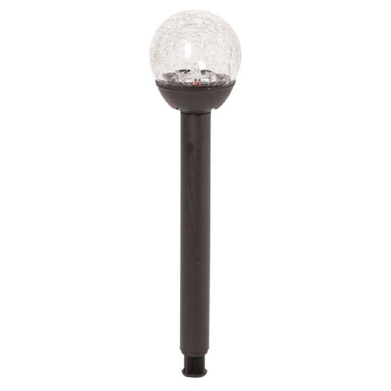 Kiwi Garden Solar Crackle Ball 2 Lumen 6cm, , hi-res