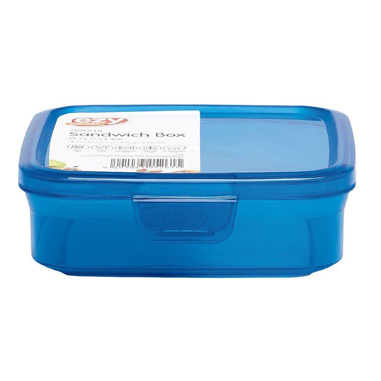 ezy Sandwich Box Assorted 800ml, , hi-res