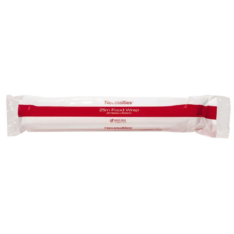 Necessities Brand Food Cling Wrap 25m, , hi-res