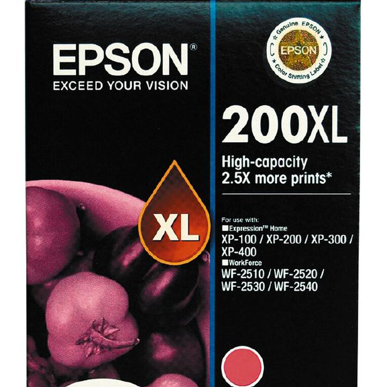 Epson Ink 200XL Magenta (450 Pages), , hi-res