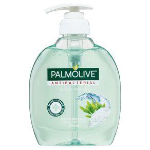 Palmolive Antibacterial Liquid Hand Wash Pump Sea Minerals 250ml