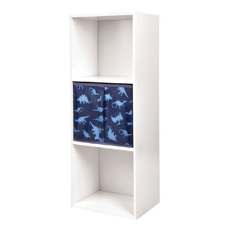 Living & Co Mia Bookcase Storage Insert Dinosaur Print, , hi-res