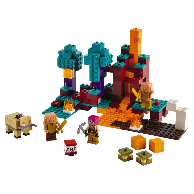 LEGO Minecraft The Warped Forest 21168, , hi-res