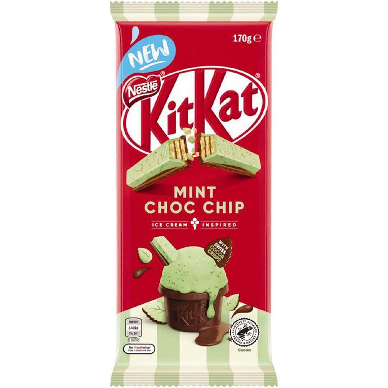 KitKat Mint Chocolate Chip Block 170g, , hi-res