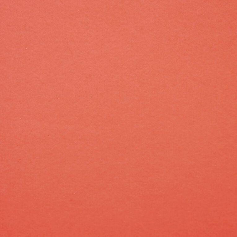 DAS Fluoro Card 230gsm 500 x 650mm Red, , hi-res