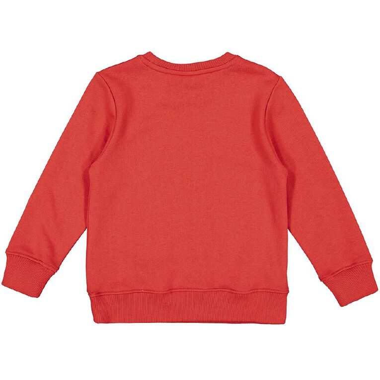 Paw Patrol Long Sleeve Crew Sweat, Red, hi-res