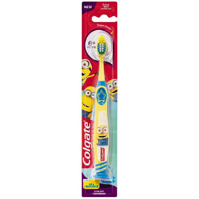 Colgate Minions Toothbrush 6+ Years Assorted, , hi-res