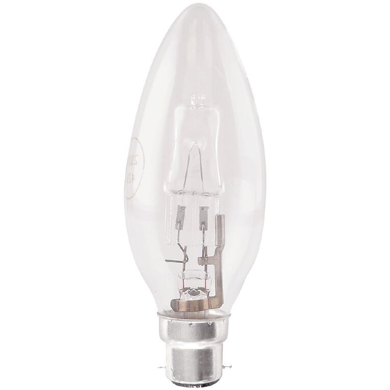 Edapt Halogena B22 Candle Light Bulb 42w, , hi-res