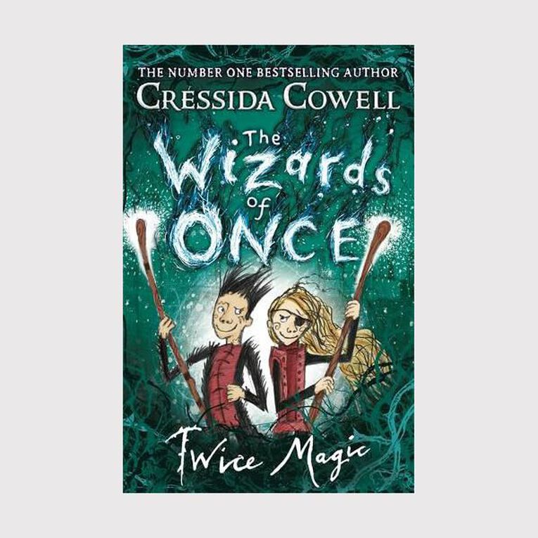 The Wizards of Once #2 Twice Magic by Cressida Cowell, , hi-res
