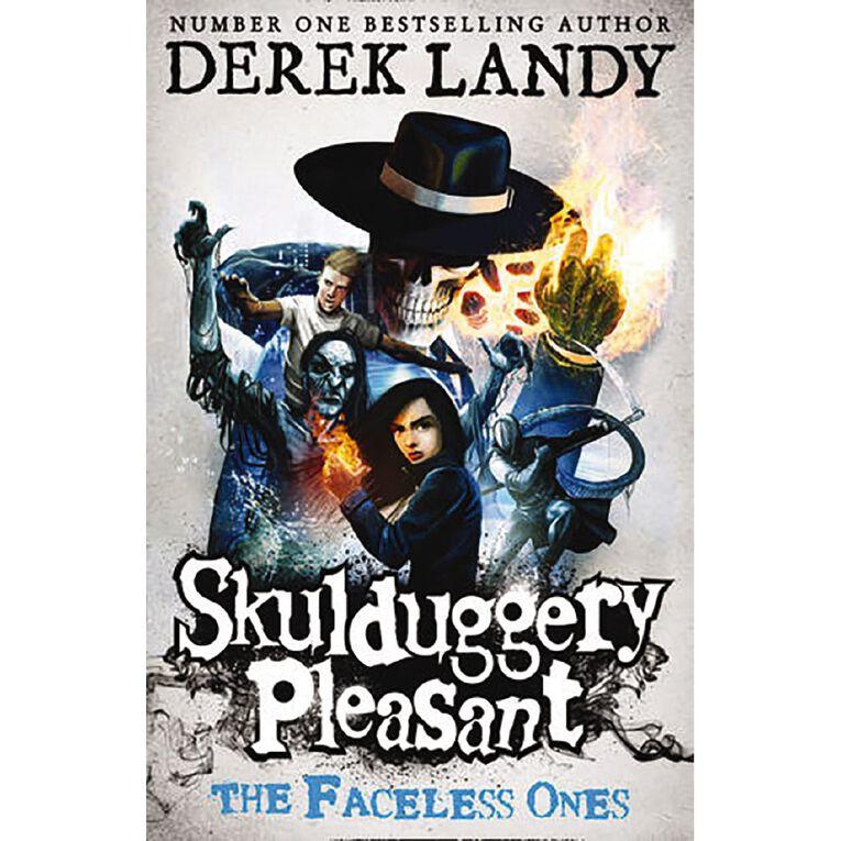 Skulduggery Pleasant #3 The Faceless Ones by Derek Landy, , hi-res
