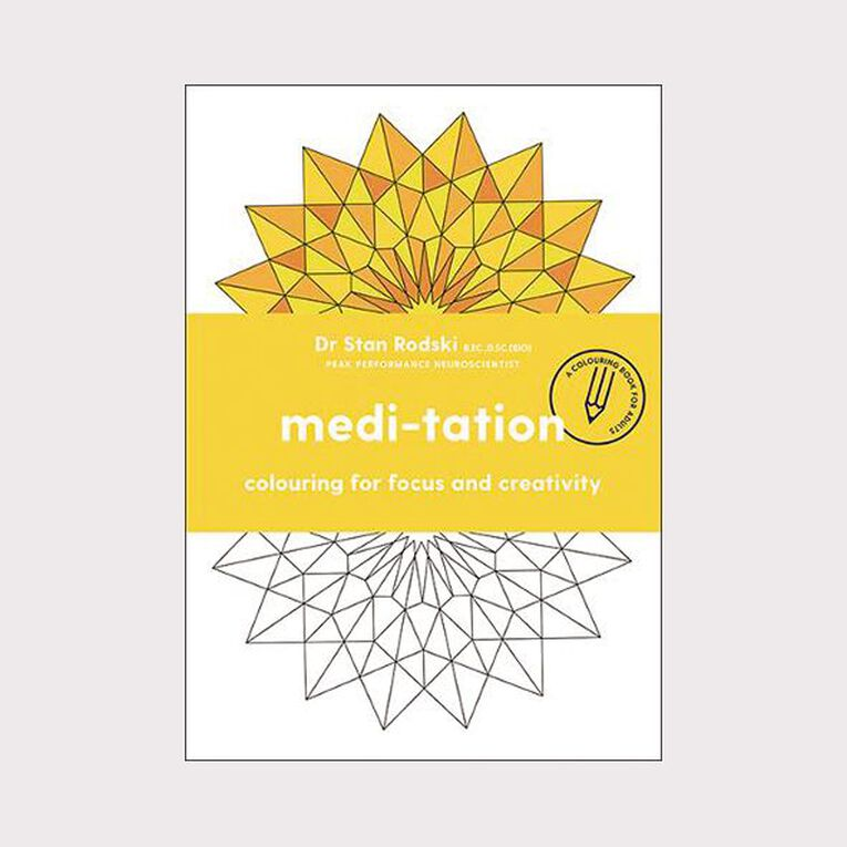 Medi-Tation by Dr Stan Rodski, , hi-res image number null