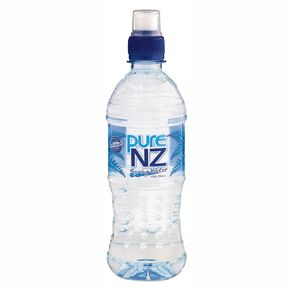 Pure NZ Spring Water 750ml