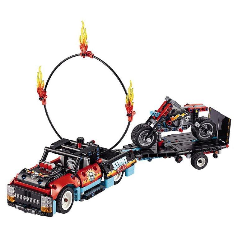 LEGO Technic Stunt Show Truck & Bike 42106, , hi-res