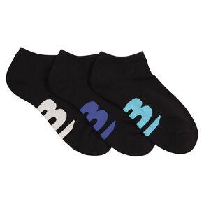 B FOR BONDS Men's Low Cut Cushioned Socks 3 Pack