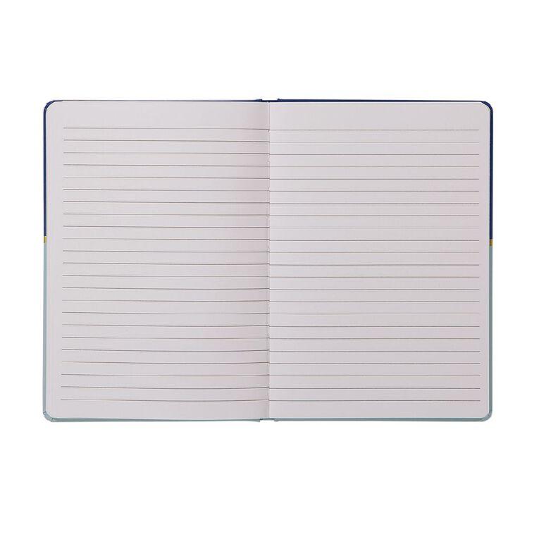 Uniti Geo Notebook Blue A5, , hi-res