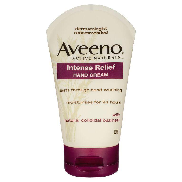 Aveeno Intense Relief Hand Cream 100g, , hi-res