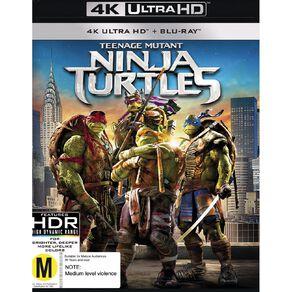 Teenage Mutant Ninja Turtles 2014 4K Blu-ray 2Disc