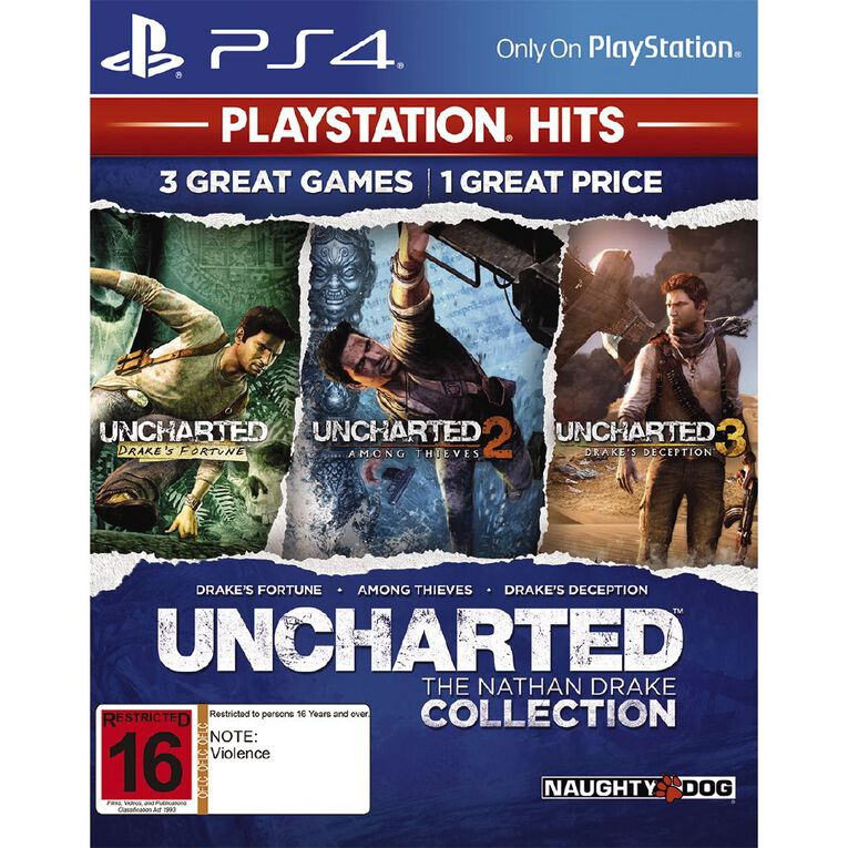 PS4 Uncharted The Nathan Drake Collection, , hi-res