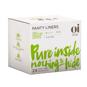 Oi Organic Cotton Ultra Thin Liners 24 Pack