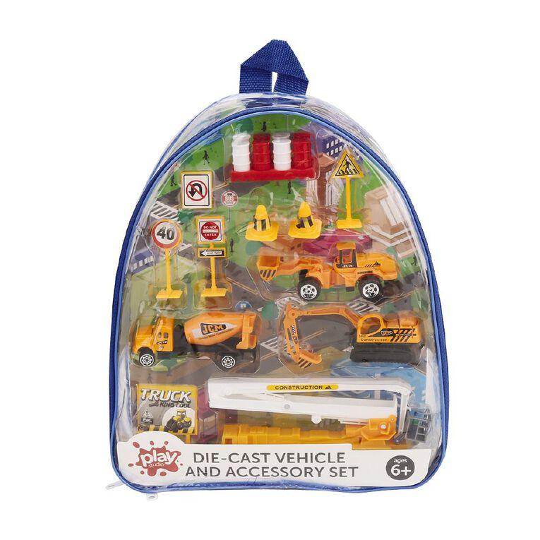 Play Studio Die-Cast Vehicle & Accessory Set, , hi-res