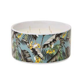 Living & Co Citronella 5 Wick Ceramic Jar Candle Green 19.4oz