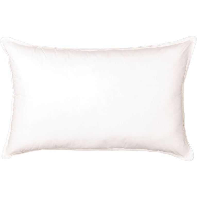Living & Co Pillow Down Alternative White One Size, White, hi-res