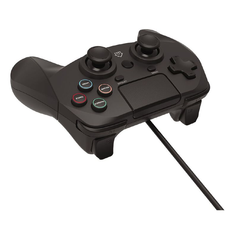 Playmax Controller Wired PS4 Black, , hi-res