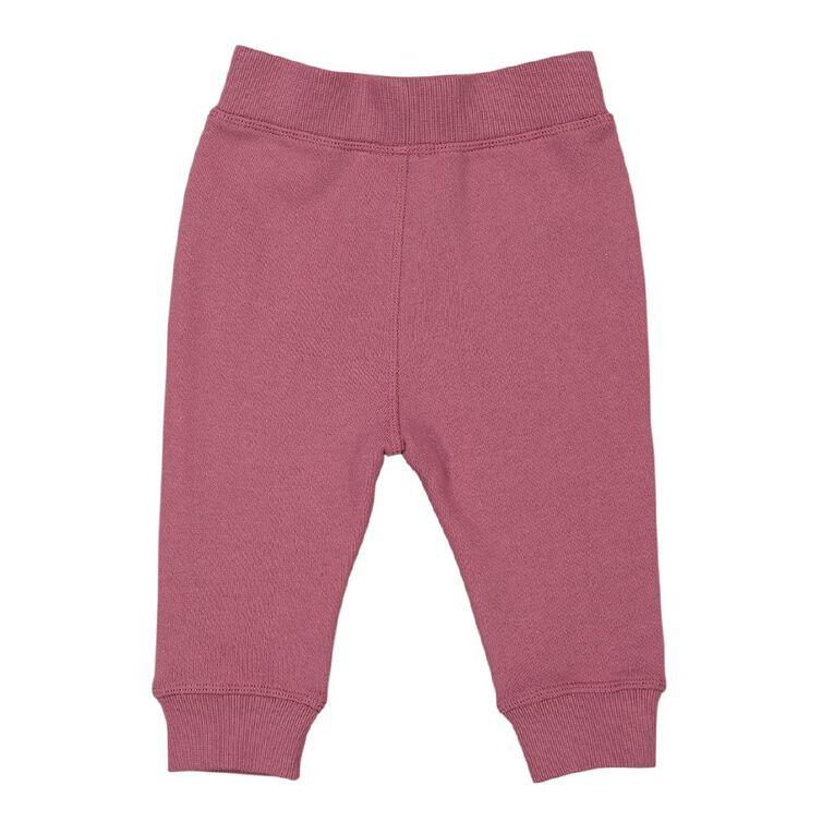 Young Original Baby Panel Trackpants, Pink Mid, hi-res