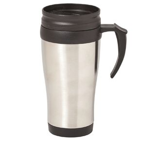 Living & Co Essentials Stainless Steel Travel Mug 400ml