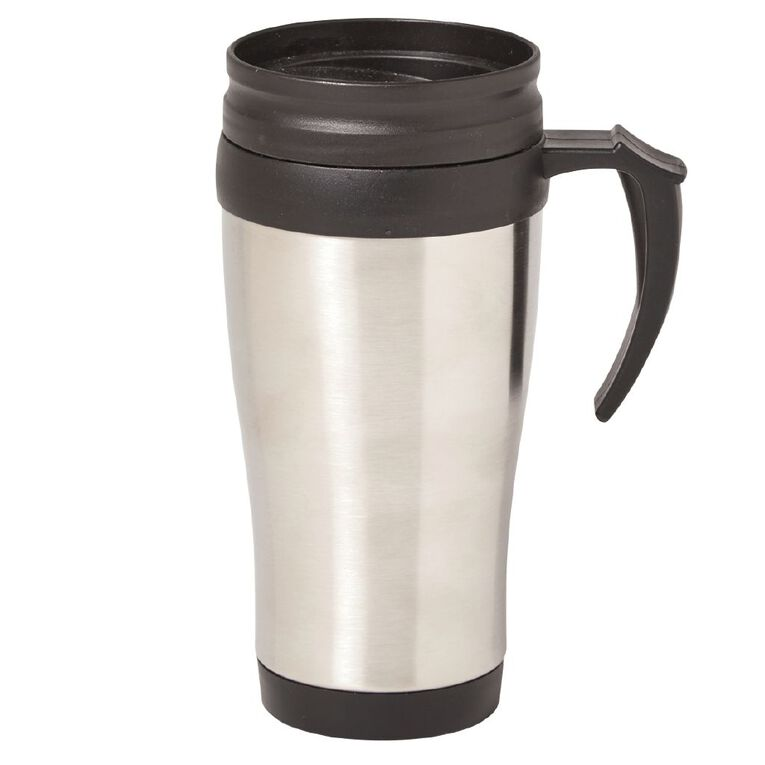 Living & Co Essentials Stainless Steel Travel Mug 400ml, , hi-res image number null