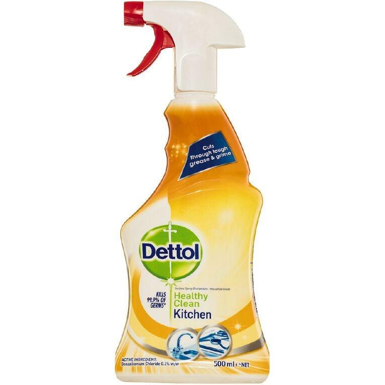 Dettol Antibacterial Healthy Clean Kitchen Spray 500ml, , hi-res