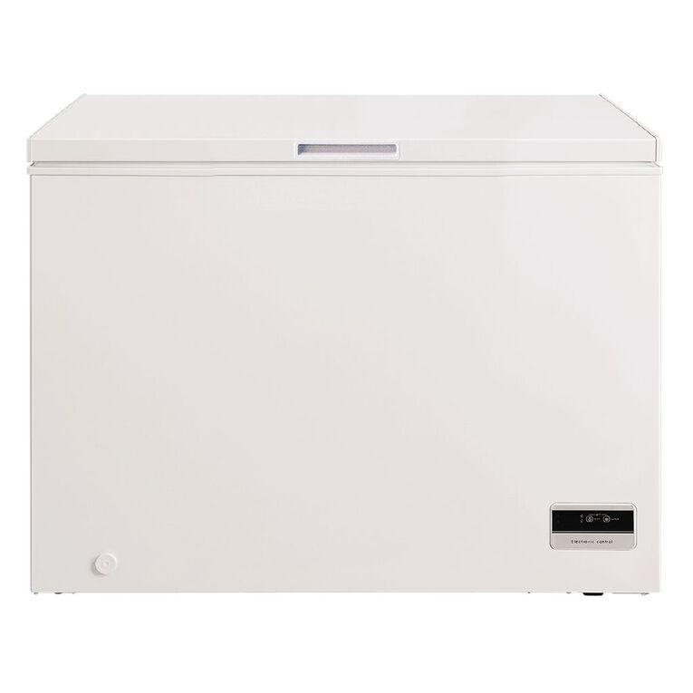 Akai Chest Freezer 290 Litre White, , hi-res