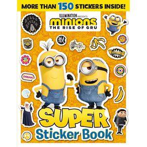 Minions #2 Super Sticker Book