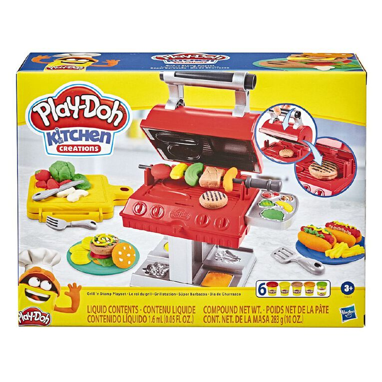 Play-Doh Grill N Stamp Playset, , hi-res
