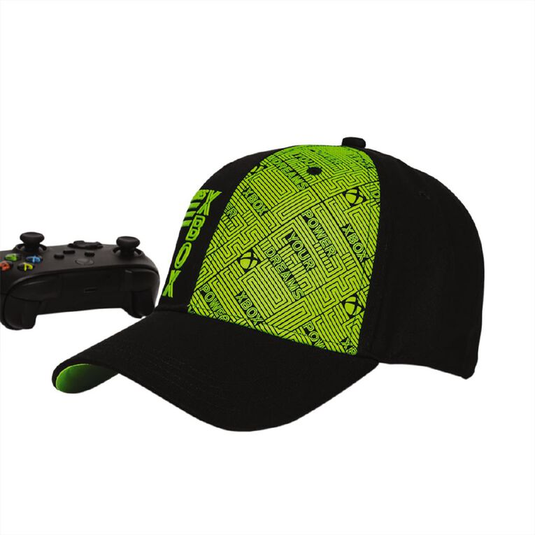 Official Xbox Core Pattern Snapback, , hi-res
