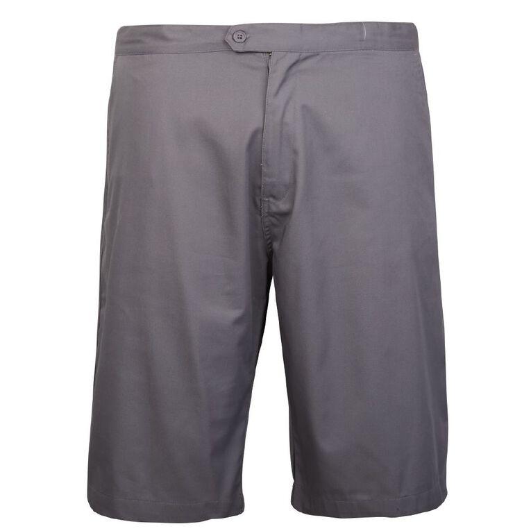 Schooltex Boys' School Shorts, Grey, hi-res