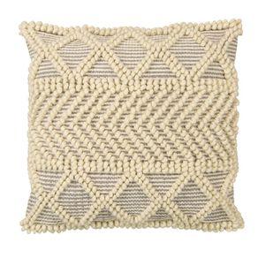 Living & Co Inca Bobble Cushion Natural 45cm x 45cm