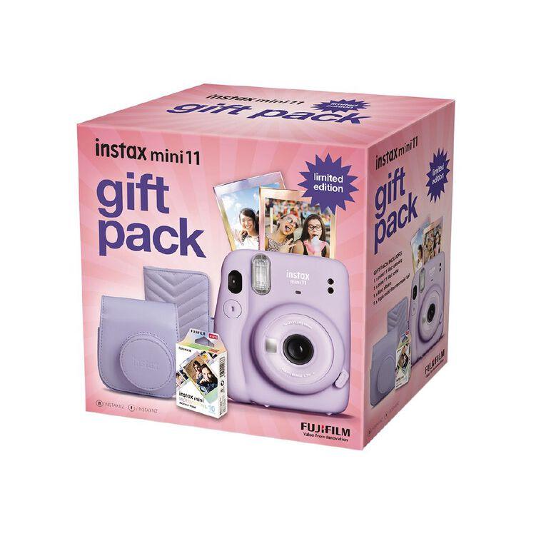 Fujifilm Instax Mini 11 Lilac Limited Edition Gift Pack, , hi-res