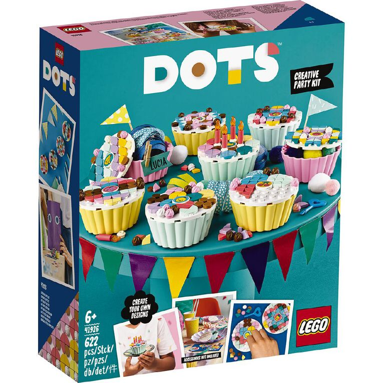 LEGO DOTS Creative Party Kit 41926, , hi-res