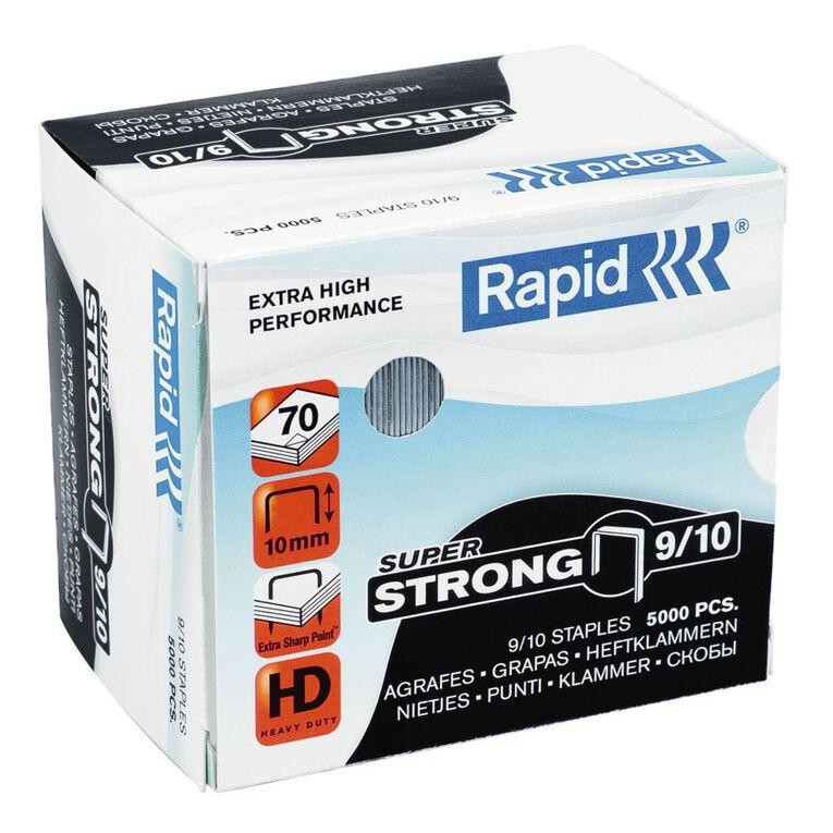Rapid Staples 9/10 5000 Pack Silver, , hi-res