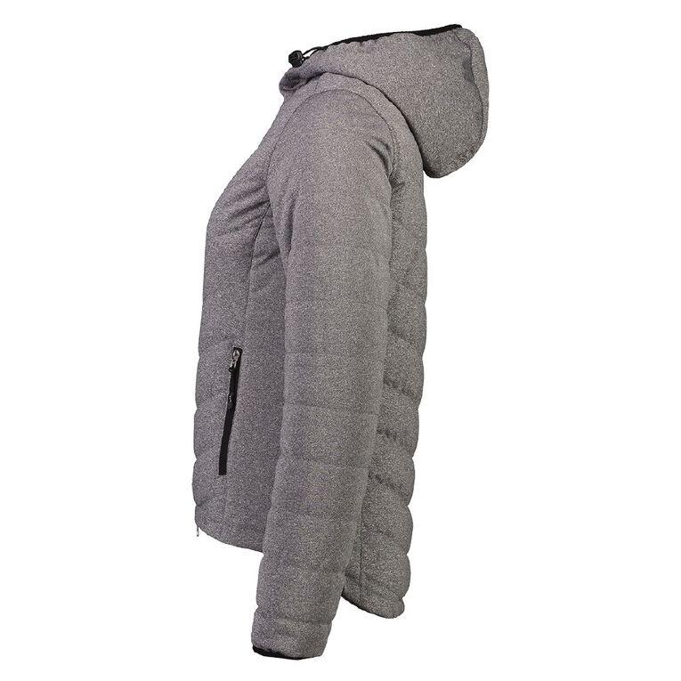 Active Intent Women's Marl Jacket, Charcoal/Marle, hi-res