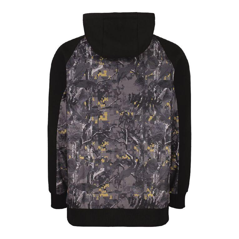 Back Country Pullover Hood Camo Print Sweatshirt, Slate, hi-res