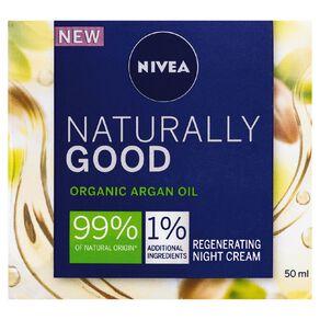 Nivea Naturally Good Regenerating Night Cream 50ml
